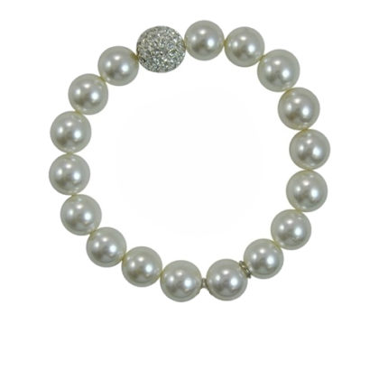 White-Pearl-Bracelet-with-Golf-Ball-encrusted-with-Crystals-from-Swarovski®-and-PGA-Charm