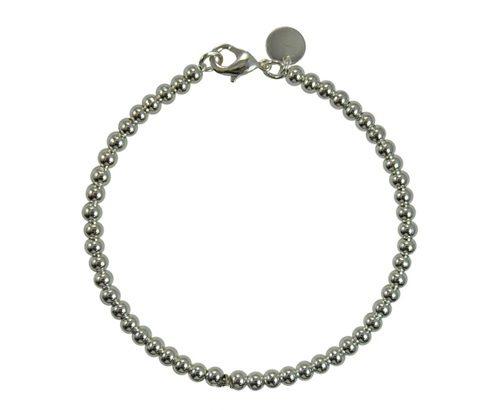 Silver-PGA-Bead-Bracelet-4mm