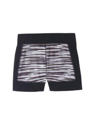 poly-black-stripe-shorts
