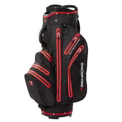356698-BlackRed-Benross-PROTEC-Waterproof-Cart-Bag-1
