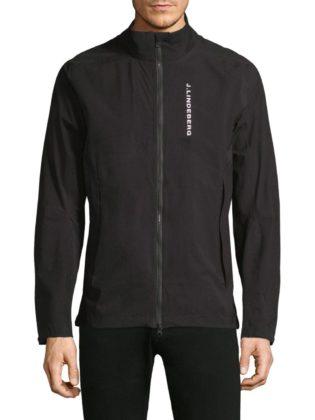 j-lindeberg-Black-Easypack-Lightweight-Jacket